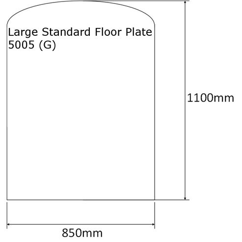 Picture of Slate Effect Floor Plate