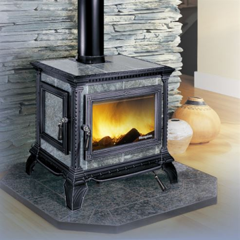 Picture of Heritage Soapstone Clad Stove in Black
