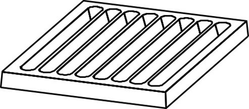 Picture of Uni WF Cast iron grate 4 - 37