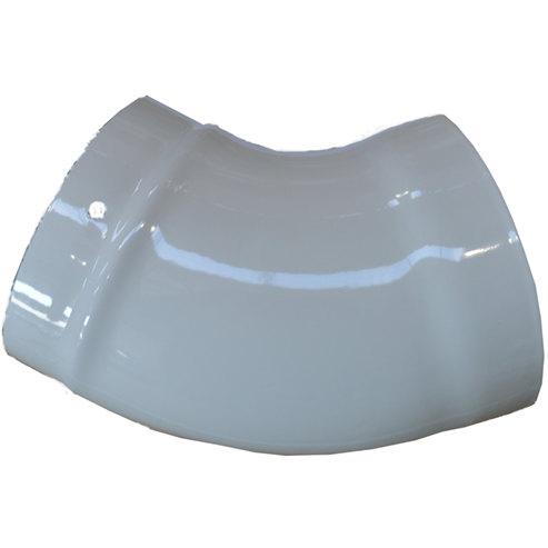 Picture of Glossy Enamel Flue Pipe   125mm⌀   45° Elbow