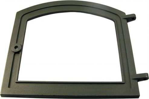 Picture of Combustion Door Cast Black H 8 & 33